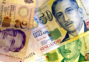 Курсы валют сингапурский доллар