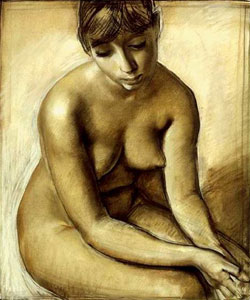 THE MODEL IN NUDE ART: NUDE PICTURE GALLERY