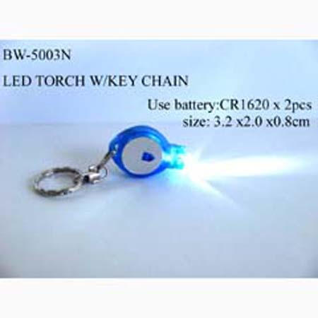 LED TORCH W / KEY CHAIN (Светодиодный фонарик Вт / брелок)