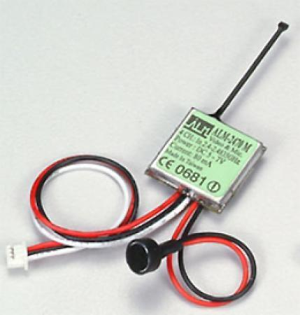 2.4 GHz Wireless Video/Mic. Mini. Transmitter