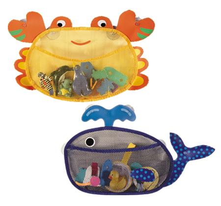 Toy Storage Bags (Crab and Whale) (Игрушка хранения сумки (краб и кит))