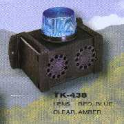 TK-438 Twin Piezo Siren + Flasher