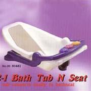 2-1 Bathtub & Seat (2  Ванна & Seat)