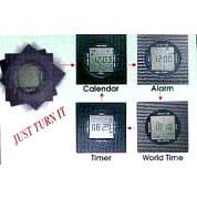 Rotation Clock (Вращение часов)