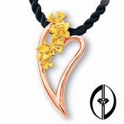 FLOWERS SPEECH - 14K ROSE GOLD PENDANT (ЦВЕТЫ РЕЧЬ - 14K ROSE золотой кулон)