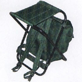 X Stool With Backpack - AG2066 (X табурет с B kp k - AG2066)