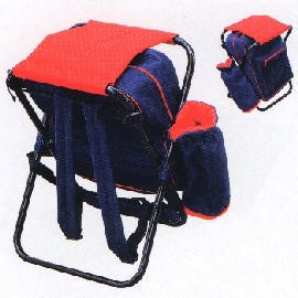 X-Stool With Backpack - AG2068 (X-табурет с B kp k - AG2068)