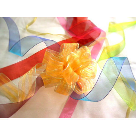 sheer, organza ribbon (Sh r, органза лента)