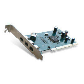 IEEE1394A PCI Host Card 3+1 Port