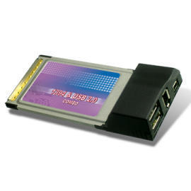 PCMCIA CardBus to IEEE1394 & USB2.0