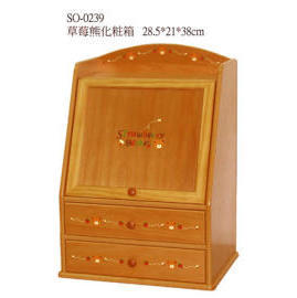 M.D.F BOX WITH 2 DRAWER