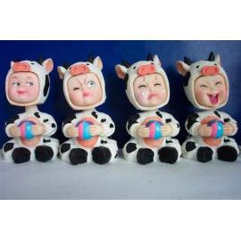 bobblehead, bobbinghead, bobble head, bobbing head, bobble head doll, bobbing he