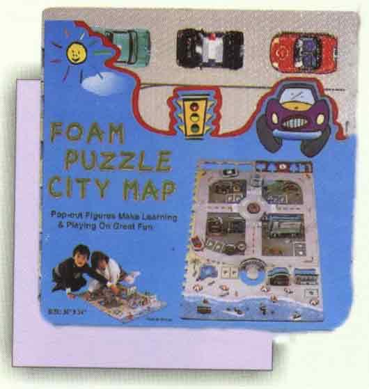 Foam Puzzle / Play Mat (Пена Puzzle / Воспроизвести Матем)