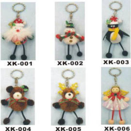 CHRISTMAS KEY RING (WEIHNACHTEN KEY RING)
