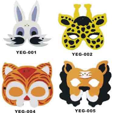Animal style flash EVA mask