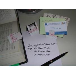 Patent Magnetized Paper Holders(S) (Патентная намагниченном бумаги Держатели (S))