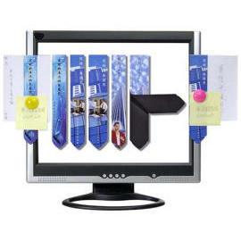 Magnetic Paper Holder for PC Monitor (Магнитный держатель для бумаги монитор компьютера)