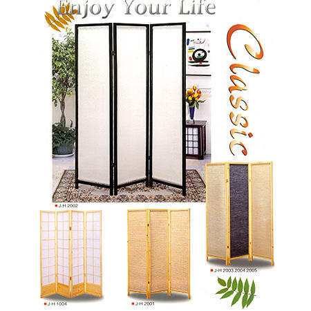 Wooden Screen, Body Material: Non woven,jute,paper