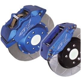six-piston brake systems