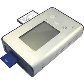 Compact Digital Photo Bank 2.5`` HDD Enclosure with 9-in-1 Card Reader (Компактные цифровые фотографии банка 2,5``HDD Enclosure с 9-в  Card Reader)