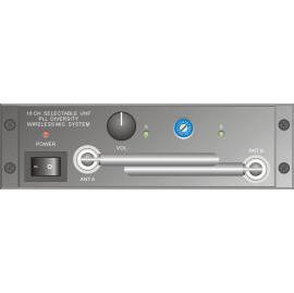 16 CH wireless UHF