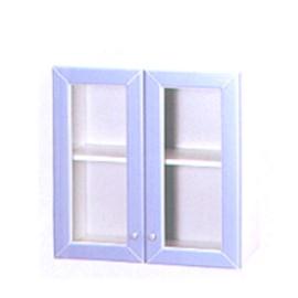Two-door bathroom cabinet (Две дверцы ванной)