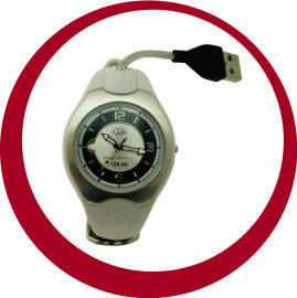 USB Watch-Flash Memory