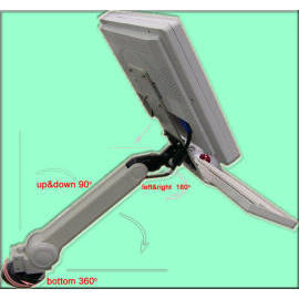 LCD Monitor Arm, desktop, hole-clamp, swivel arm, flat panel arm, furniture (LCD Monitor Arm-, Desktop-, Loch-Klemme, Schwenkarm, Flat-Panel-Arm-, Möbel -)
