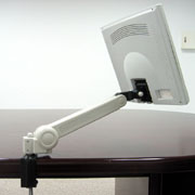 LCD Arm, desk mount, c-clamp, swivel arm, flat panel arm, furniture (LCD-Arm, Schreibtisch mounten, c-Klemme, Schwenkarm, Flat-Panel-Arm-, Möbel -)