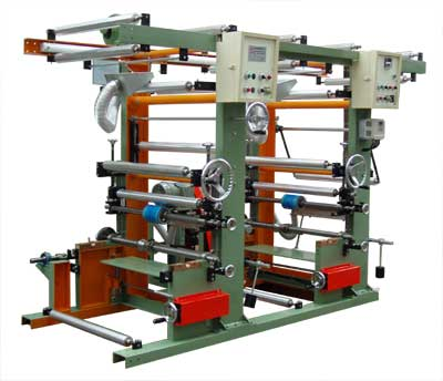Rotogravure in-line Printing Machine with HDPE/LDPE Blown Film Equipment