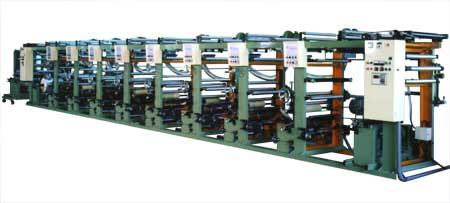 Fully Automatic High Speed Rotogravure Printing Machine