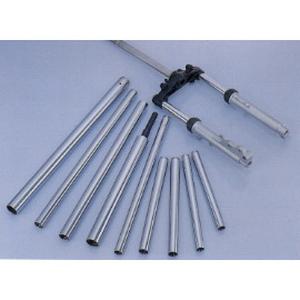 Piston rod front shock absorber for all types of motorcycles
