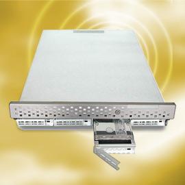 1U Rack 4-bay SCSI Server