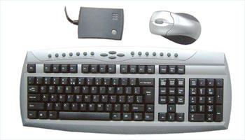 Wireless keyboard and mouse kit (Беспроводная клавиатура и мышь комплекта)