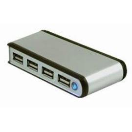 USB2.0 Aluminum 4 port Hub (USB2.0 алюминиевый 4-портовый концентратор)