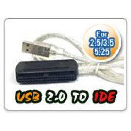 200 , USB2.0 to IDE adapter kit ,works with 2.5`` 3.5`` HDD and 5.25`` CD/DVD Dr (200, USB2.0 к комплекту адаптера IDE, работает с 2.5``3.5``HDD и CD 5,25``/ DVD д)