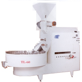 Coffee bean baking machine