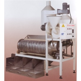 Raw Coffee Bean De-Shelling sorting machine