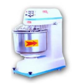 Vertical double action mixer