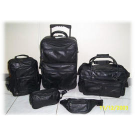 Patchwork Leather Travel Luggage Set (Patchwork кожа Камера Travel Set)