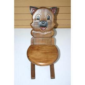 CHILDREN STOOL-CAT