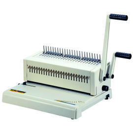 Plastic comb punch bind machine (Plastic punch peigne lier machine)