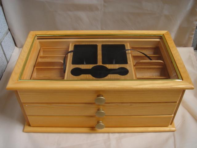 drawer style wooden chip case for 1000pcs (ящик стиле деревянного корпуса чипов для 1000шт)