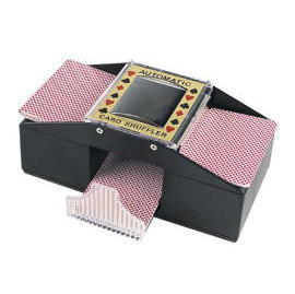 card shuffler for 1~2 decks of playing cards