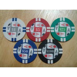4 Ace poker chip (4 Ace Poker чипа)