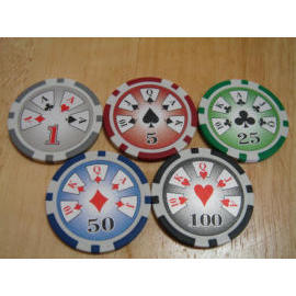 Cards poker chip (Карты покер чипа)