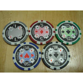Casino Ace poker chip (Казино Ace Poker чипа)