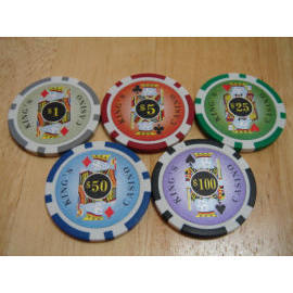 King poker chip (Король покера чипа)