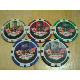 Flags poker chip (Флаги покер чипа)