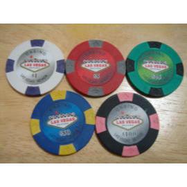 Las Vegas poker chip (Лас-Вегас покер чипа)